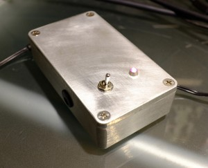 The finished dual 9 volt power supply.